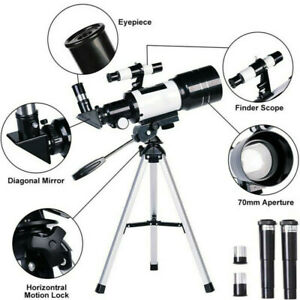 Astronomical Telescope Night Vision For HD Viewing Space Star Moon & Tripod Tool