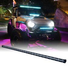 "Xprite Single Row C6 Series 210W Spot 44"" LED Light Bar with Blue Back Light"