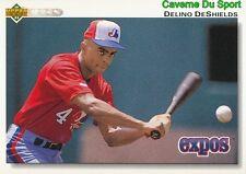 167 DELINO DESHIELDS MONTREAL EXPOS BASEBALL CARD UPPER DECK 1992
