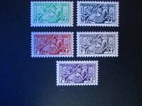 Monaco #283-87 Mint Never Hinged- (Z6) I Combine Shipping!