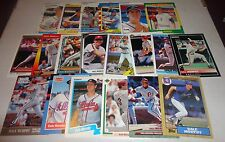 Dale Murphy 20 card lot -all different -Braves -Phillies