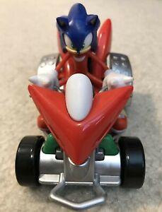 Rare Sonic the Hedgehog Knuckles Meccano Landbreaker Motorized Toy Car Vehicle