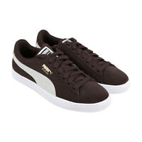 Puma Suede Classic 36534739 Mens Brown Casual Lace Up Low Top Sneakers Shoes