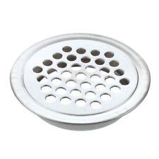 Metal Round Louver Ventilation Grille Air Vent 3mm Mesh Hole 5 Pcs Y1O9