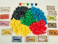 Ticket to Ride Replacement Parts Pieces Cards Wooden Tokens Board Routes Trains