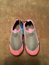 NEW with Tags GIRLS Size 13-1 Sun & Sky Water  beach Shoes PINK GRAY