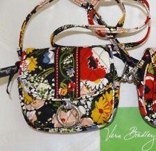 VERA BRADLEY Little Hip Bag Crossbody Belt Bag - POPPY FIELDS - Perfect Cond.