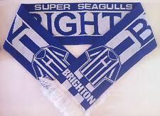 BRIGHTON Football Scarves NEW from Superior Acrylic Yarns