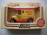 Lledo Days Shredded Wheat Promotional Truck Van