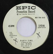 50'S & 60'S Promo 45 Sal Mineo - Party Time / The Words That I Whisper On Epic