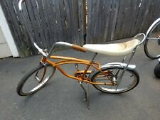 1968 schwinn stingray coppertone coaster brake banana seat muscle bike