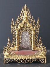 Ancien Autel Présentoir à Bouddhas BIRMANIE