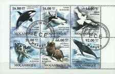 Timbres Faune marine Mozambique 3736/41 o année 2011 lot 13437 - cote : 22 €