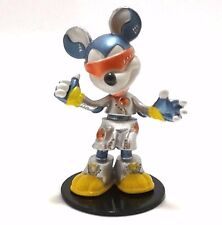 Disney Yujin Mickey Mouse with Space Suit on Base Figure Movable Head