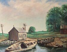 New Bedford Tugboat Giclee art print