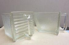 3 x Glasschütten Küchenschütten Schütten Weck und Heye Vorratsgefäße