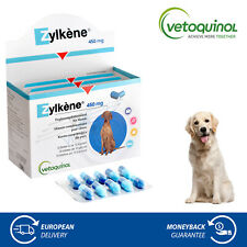 Vetoquinol Zylkene 450mg for Large Dogs Stress Anxiety Relief Food Supplement