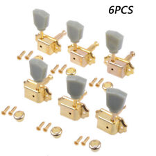 GOLD Guitar Deluxe Tuning Pegs Tuners Machine Heads for Gibson Les Paul 3L 3R