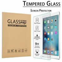 """HD Clear Tempered Glass Screen Protector For New iPad 6th Generation 9.7"""" 2018US"""