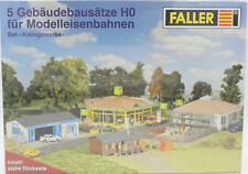 Faller Modellbausatz H0 5-Gebäudebausätze Baustoffhandel Blumengeschäft Werkstat