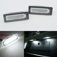 2x Led Nummer Lamp License Plate Light for Benz Smart Fortwo W450 451 W451 451