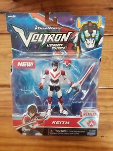Dreamworks Voltron Legendary Defender Keith Figure Netflix New Sealed