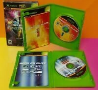 Dead or Alive Ultimate 1 + 2 Box Set Tecmo  Microsoft XBOX OG Game - Complete