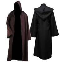 Adult Cosplay Costume Star Wars Warrior Jedi Cloak Robe Halloween Party Dress US