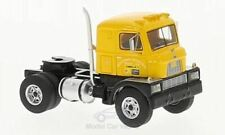 HO 1/87 BOS 87365 - 1960 Mack H-673 Single Axle Day Cab Tractor - Yellow