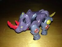 "Transformers Backstop Cybertron Autobot Figure Rhino EUC 4"" Long (1)$"
