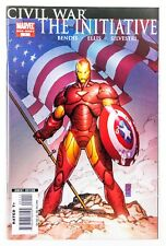 Civil War: The Initiative #1 (2007 Marvel, 1st Print) Marc Silvestri Cover! NM