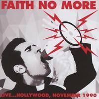 FAITH NO MORE – LIVE… HOLLYWOOD, NOVEMBER 1990 (NEW/SEALED) CD