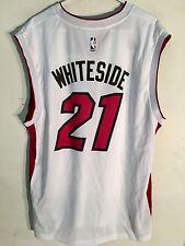 Adidas NBA Jersey Miami Heat Hassan Whiteside White sz L