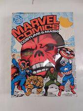 UNNWORN BEN COOPER MARVEL COMICS RED SKULL LARGE 12-14 COSTUME & MASK W/BOX 1980