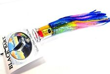 Black Bart El Squid Sr Big Game Trolling Lure Medium - Yellow Foil / Rainbow