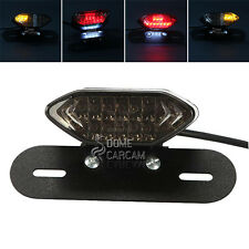LED License Plate Tail Light For Harley Electra Glide Ultra Classic FLHTCU