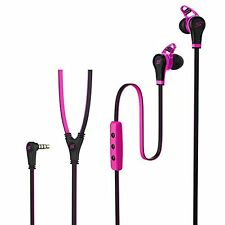 SMS Audio Street by 50 Sport In Ear Wired Headphones Pink