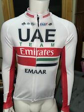 UAE Champion Systems UCI Colnago Long Sleeve Team Jersey Size Large