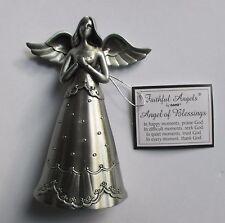 n Angel of Blessings praise seek trust thank God FAITHFUL FIGURINE ganz