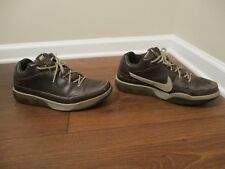 Classic 2007 Used Worn Size 13 Nike Shox Spotlight Low Shoes Brown Chino Gold