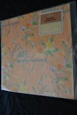 Vtg Hallmark Paper Gift Wrap Easter ... Time of New Beginnings Dafodil NIP