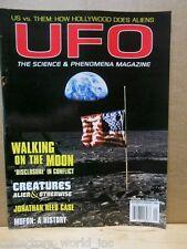 UFO Magazine 2001 December/Januray 2002 Walking on the Moon Jonathan Reed Mufon