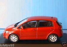 VW VOLKSWAGEN GOLF 5 V PLUS 2005 MINICHAMPS 1/43 RED NEW 5 PORTES DOORS ROUGE