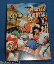 MARS 72009 PIRATES OF THE CARIBBEAN. 48 x 1/72 SCALE UNPAINTED PLASTIC PIECES.