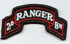2nd RANGER BATTALION SCROLL - FULL COLOR:TN