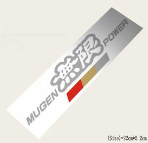 MUGEN POWER HF JDM Hella Flush Sticker Decal for AE86 Toyota Honda GT Sports