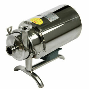 Stainless Steel Sanitary Pump Sanitary Beverage Milk Delivery Pump 3T/h 0.75KW