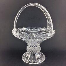 Shannon Olympia Basket Godinger Crystal 24 Lead Glass Bowl Dublin Ireland Dish