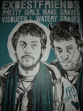 Tyler Stout Ex Bestfriends Pretty Girls Make Graves Poster Silkscreen Print 2002