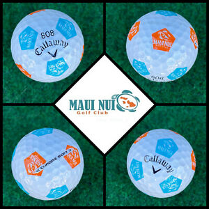 (1) Callaway Chrome Soft TRUVIS Golf Ball (808) Maui Nui Golf Club HAWAII - USA
